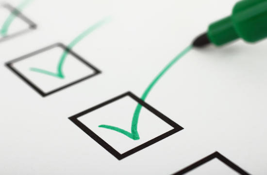 Paladin DTS - checklist